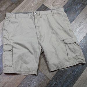 Cargo Shorts Wrangler Size 46 Khaki Men